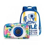 Aparat foto compact Nikon Coolpix W100 13.2 Mpx zoom optic 3x subacvatic Backpack Kit Marine