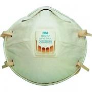 Respiratore a conchiglia con valvola 3M - polveri e fumi - FFP2 - 8822 (conf.10) - 281480 - 3M