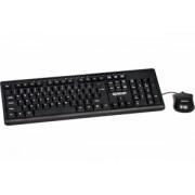 Kit Tastatura + Mouse Cu Fir Spacer SPKB-1657