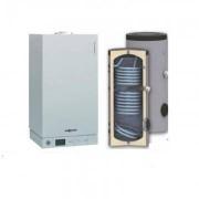 Viessmann Vitodens 100 35 kw numai incalzire cu boiler bivalent Woody SON 200 litri Solar Ready
