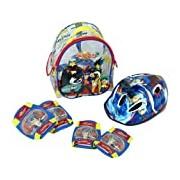Beyblade Set - Helmet + Protectors (SAICA Toys 8765)