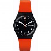Reloj Swatch GB754-Rojo con Negro