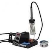 Silex France ® Station fer à souder électrique 75W + bobine d'étain - écran digital ...