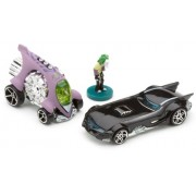 Hotwheels 1:64 Scale Batman Series The Jokers Last Laugh with Joker Mini Figure, Jokers Car and Batm