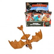 Dragones - Mini Battle Dragon - Figuras de batalla - Selección del dragón, Dragons:Toothless Gold