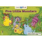 5 Little Monsters by Rozanne Lanczak Williams