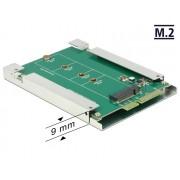 DeLock 2.5″ Converter SATA 22 Pin > M.2 NGFF 62552