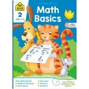 Math 2 Combo Book by School Zone Publishing