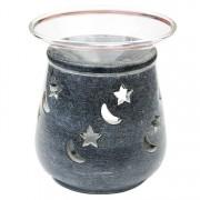 Aromalampa, motiv Stjärnor & Månar, 9 cm