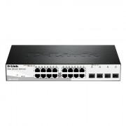 D-Link DGS-1210-20 Managed, 10/100/1000BASE-TX ja SFP, 16 + 4 pordiga