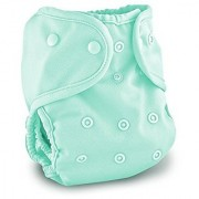 Buttons Cloth Diaper Cover - One Size (Sea Breeze)