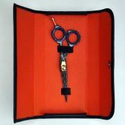 Professionell frisörsax, snyggt mönster 13,5 cm
