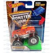 hot wheels monster jam Truck Stunt Ramp El Toro Loco #04 X-Ray Body by Mattel