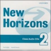 New Horizons 2 Class Audio CDs(Paul Radley; Daniela Simons)