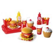 Ecoiffier 2623 - Set Giocattolo per Preparare Gli Hamburger