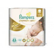 Scutece Pampers Premium Value Pack 1 new baby 88 buc.