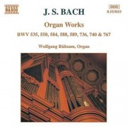 J.S. Bach - Organ Works (0730099403320) (1 CD)