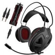 GAMDIAS Hebe V2 Gaming Headset with 3.5mm Jack 50mm Gaming Drivers Smart Remote Control & Uni-Directional Mic(GHS3300)
