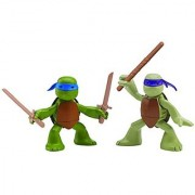 Nickelodeon Teenage Mutant Ninja Turtles Ninjas in Training Donatello and Leonardo Action Figures