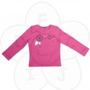 Roze majica sa vezom