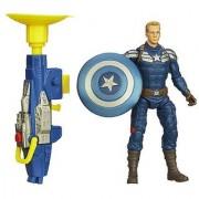 Marvel Captain America Super Soldier Gear Grapple Cannon Captain America Figure