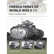 French Tanks of World War II: Volume 1 by Steven J. Zaloga