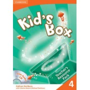 Kid's Box 4 Teacher's Resource Pack with Audio CD: Level 4 by Kathryn Escribano