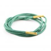 Bondi Laces Dress Laces Eucalyptus / Gold Tips DRESGR1G