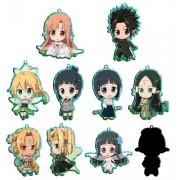 Sword Art Online Puchi~tsu daughter Trading Metal Key Fair Banbury dance Hen BOX (japan import)