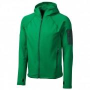 Marmot - Stretch Fleece Hoody - Fleecejacke Gr L oliv/grün