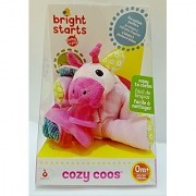 Bright Starts Cozy Coos Pacifier Baby - Pink Giraffe