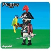 Playmobil Pirate Captain with Parrot 6289