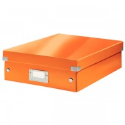Cutie Organizer Click Store medie, portocaliu