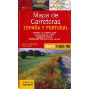 Mapa de carreteras Espana y Portugal 2011 / Spain and Portugal Road Map 2011 by AA.Vv.