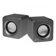 Boxa portabila S111, 2.0, 4W RMS, Argintiu