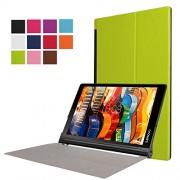 """Xinda Lenovo YOGA Tab 3 Pro X90F 10.1"""" karst CY-sottile, pieghevole, con custodia in pelle con funzione di supporto per tablet Lenovo YOGA Tab 3 Pro X90F 10.1"""""""
