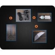 Zestaw oświetleniowy + parasol dyfuzyjny 400W 230cm Z77