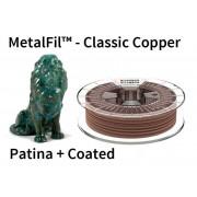 1,75 mm, MetalFil Meď, tlačové struny FormFutura, 0,75kg