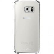 Husa tip Clear Cover pentru Galaxy S6 G920, Argintiu