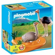 Playmobil Ostrich Family with Nest by Playmobil (English Manual)
