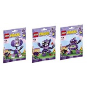 Lego, Mixels Series 6 Bundle Set Of Munchos, Snax (41551), Berp (41552) And Vaka Vaka (41553)