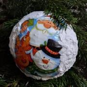 Glob de Crăciun Small Festive Portrait