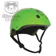 ADRENALIN SKATE HELMET (LIME GREEN)