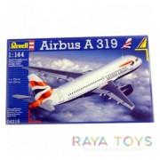 Сглобяем модел Airbus A 319 Revell