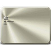 "HDD Extern Western Digital My Passport Ultra Metal Edition, 1TB, 2.5"", USB 3.0, Auriu"