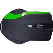 Mouse Modecom Wireless MC-WM5 Optic Negru cu Verde