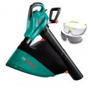 BOSCH ALS 25 Aspirator/suflator frunze 2500 W + Ochelari protectie