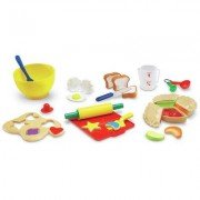 Learning Resources 31 Piece Pretend and Play Bakery Set LER9056