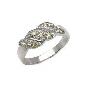 Inel argint 925 cu peridot