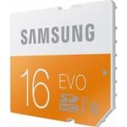 Card memorie Samsung SD EVO 16GB Clasa 10 UHS-1